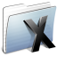 64x64px size png icon of Graphite Stripped Folder System
