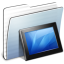 64x64px size png icon of Graphite Stripped Folder Wallpapers