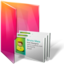 64x64px size png icon of Folders contacts