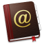 64x64px size png icon of AddressBook
