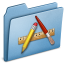 64x64px size png icon of Blue Applications