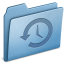 64x64px size png icon of Blue Backup