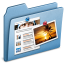 64x64px size png icon of Blue Blog