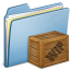 64x64px size png icon of Blue Box WIP