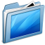 64x64px size png icon of Blue Desktop