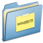 64x64px size png icon of Blue Documents