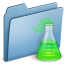 64x64px size png icon of Blue Experiment