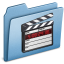 64x64px size png icon of Blue Movies