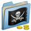 64x64px size png icon of Blue Pirates
