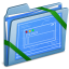 64x64px size png icon of Blue Themes WIP