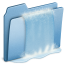 64x64px size png icon of Blue Waterfall