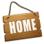 64x64px size png icon of Home alt