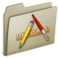 64x64px size png icon of Lightbrown Applications