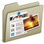 64x64px size png icon of Lightbrown Blog
