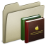 64x64px size png icon of Lightbrown Books
