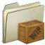 64x64px size png icon of Lightbrown Box WIP