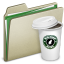 64x64px size png icon of Lightbrown Coffee 2