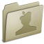 64x64px size png icon of Lightbrown MacThemes