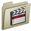 64x64px size png icon of Lightbrown Movies