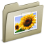 64x64px size png icon of Lightbrown Pictures