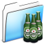 64x64px size png icon of Beer Folder smooth