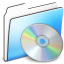 64x64px size png icon of CD Folder smooth