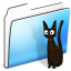64x64px size png icon of Cat Folder smooth