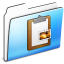 64x64px size png icon of Clipboard Folder smooth