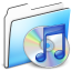 64x64px size png icon of ITunes Folder smooth