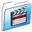 64x64px size png icon of Movie Folder smooth