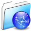 64x64px size png icon of Network Folder smooth