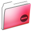 64x64px size png icon of Private Folder Red smooth