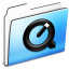 64x64px size png icon of QuickTime Folder smooth