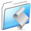 64x64px size png icon of Script Folder smooth