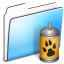 64x64px size png icon of Spray Folder smooth