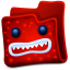 64x64px size png icon of red folder