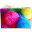 64x64px size png icon of Folder Flower