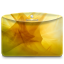 64x64px size png icon of Folder Abstract Yellow