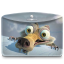 64x64px size png icon of Folder Ice Age