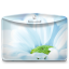 64x64px size png icon of Folder Nature Flower