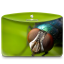 64x64px size png icon of Folder Nature Insect