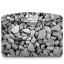 64x64px size png icon of Folder Nature Stones