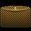 64x64px size png icon of Folder Pattern Stripes Warning