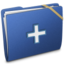 64x64px size png icon of Blue Elastic Add