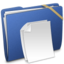 64x64px size png icon of Blue Elastic Documents