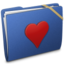 64x64px size png icon of Blue Elastic Favorite