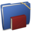 64x64px size png icon of Blue Elastic Library