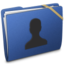 64x64px size png icon of Blue Elastic User