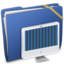 64x64px size png icon of Blue Elastic iMac