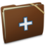 64x64px size png icon of Brown Elastic Add